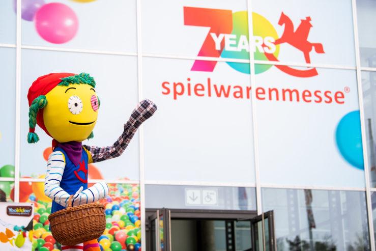 Eingang Ost, Spielwarenmesse eG / Foto: Sebastian Widmann
